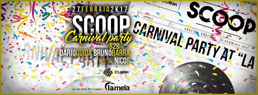 La Mela Napoli - Lunedi 27 Febbraio Carnival Party