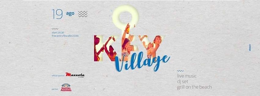 KEY BEACH PARK Pozzuoli - Sabato 19 Exclusive Party