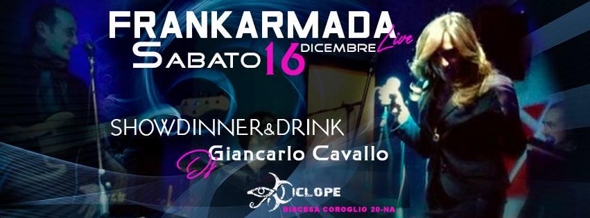 Ciclope Club Posillipo - Sabato 16 Dicembre Cena, Live e Disco
