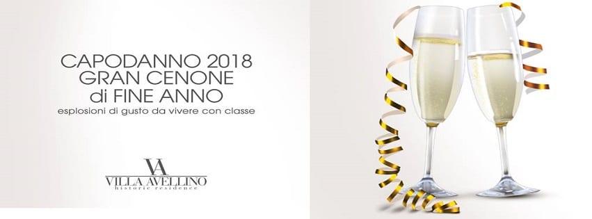 Villa Avellino Pozzuoli - Gran Cenone di Capodanno Esclusivo
