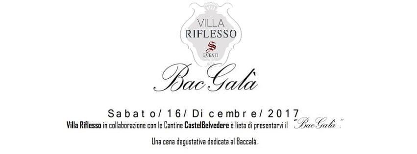 VILLA RIFLESSO Bacoli - Sabato 16 Dicembre Bac Galà