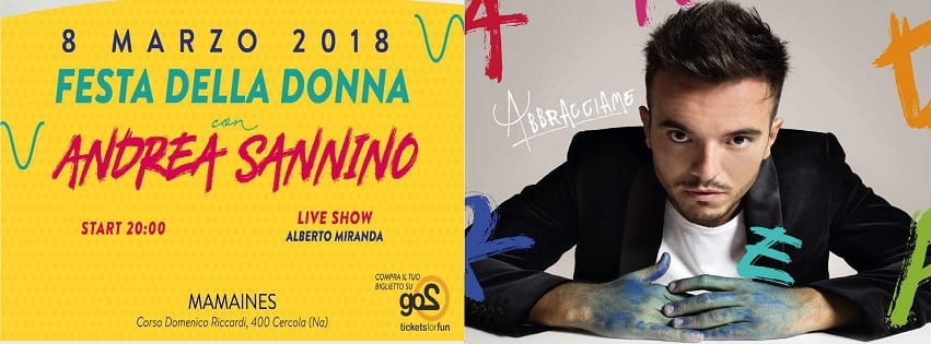Mama Ines Napoli - 8 Marzo Festa delle Donne con Andrea Sannino
