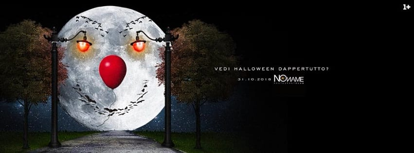 NoName Discoteca Napoli - Mercoledi 31 Halloween Night