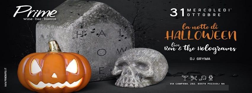 PRIME Pozzuoli - Mercoledì 31 Ottobre Halloween Party