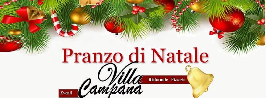 Ristorante Villa Campana Pozzuoli - Martedì 25 Pranzo di Natale