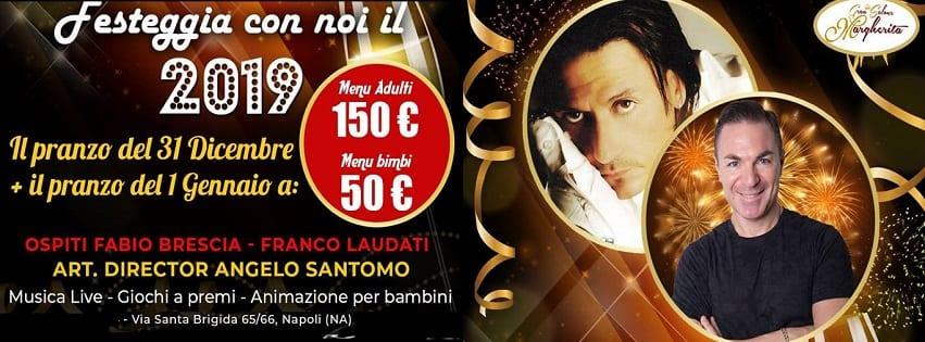 Gran Salone Margherita Napoli - Cenone di Capodanno 2019