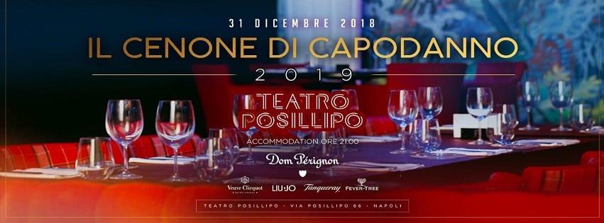 Teatro Posillipo Napoli - Cenone e Veglione di Capodanno 2019