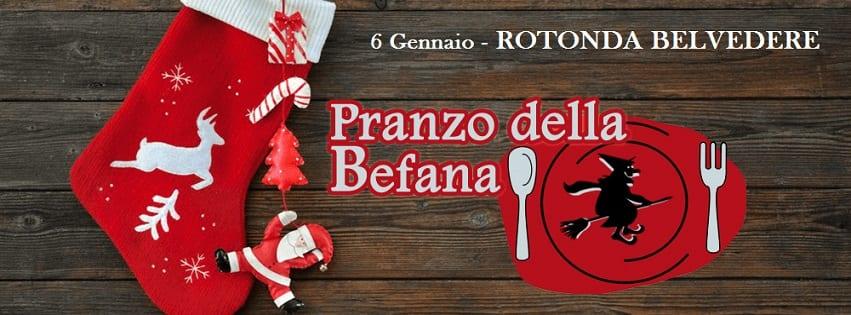 Rotonda Belvedere Napoli - Domenica 6 Gennaio Pranzo della Befana