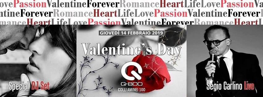 QBoo Discopub Napoli - Cena di San Valentino Napoli