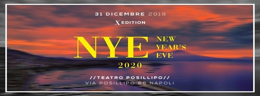 Teatro Posillipo Napoli - Cenone e Veglione di Capodanno 2020
