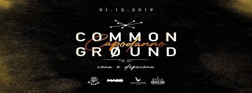 Common Ground Napoli - Cenone e Veglione di Capodanno 2020