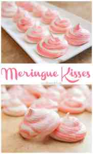 how to make meringue kisses at home