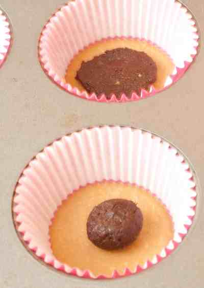 Inside Out Peanut Butter Cups with homemade peanut butter