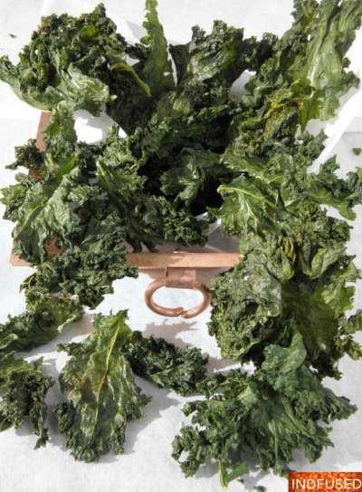 Massaged Kale Masala Chips