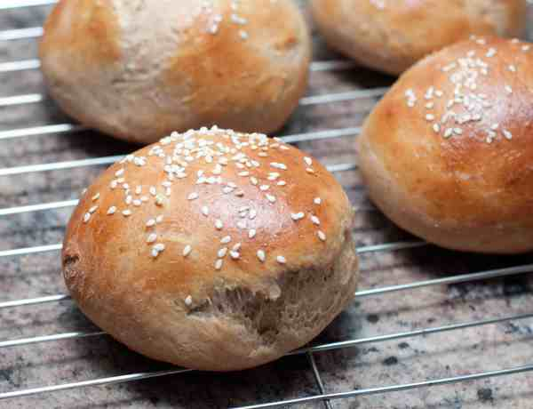 Hamburger Buns from Scratch