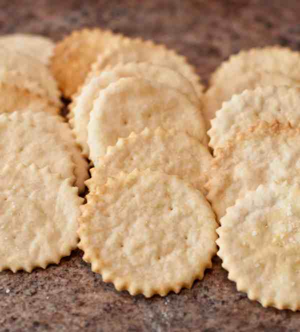 Your favorite buttery, crunchy, Ritz Cracker made at home, from scratch!