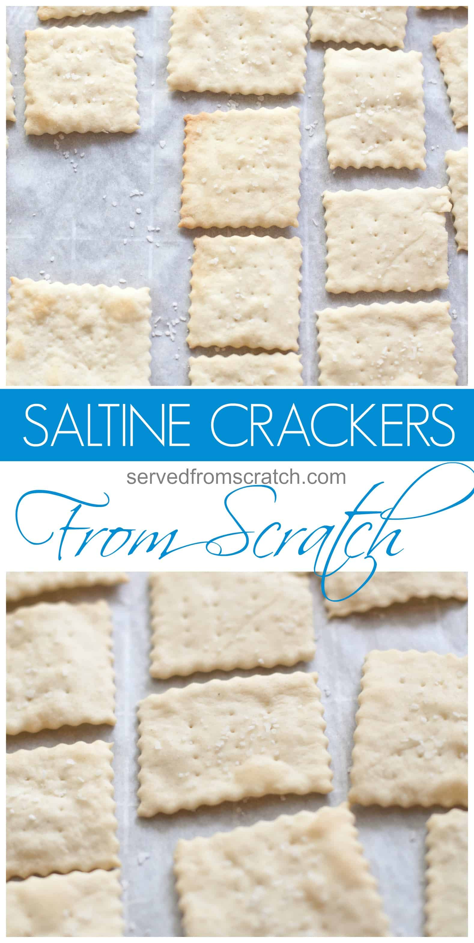 make your own saltine crackers from scratch at home. Black Bedroom Furniture Sets. Home Design Ideas