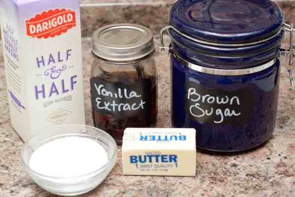 Less than 20 minutes and only 5 ingredients you can make your own Caramel Sauce from scratch!