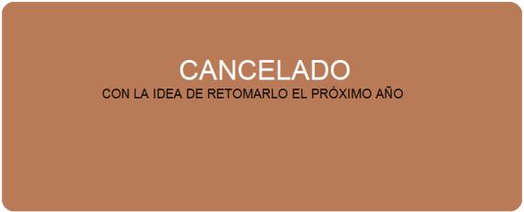 CAMINO SANTIAGO cancelado