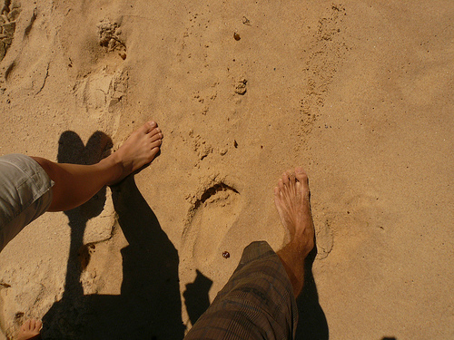 blog voyage australie whv travel sand foot walk coogee beach