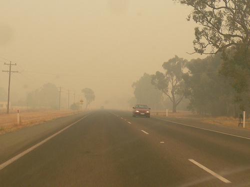 Des bushfires dans le Victoria