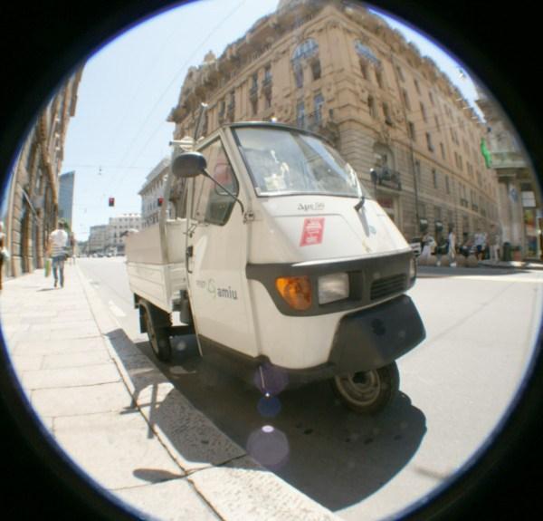 blog voyage australie whv roadtrip italie fisheye car voiturette