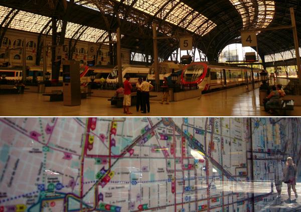 blog voyage australie espagne barcelone train metro