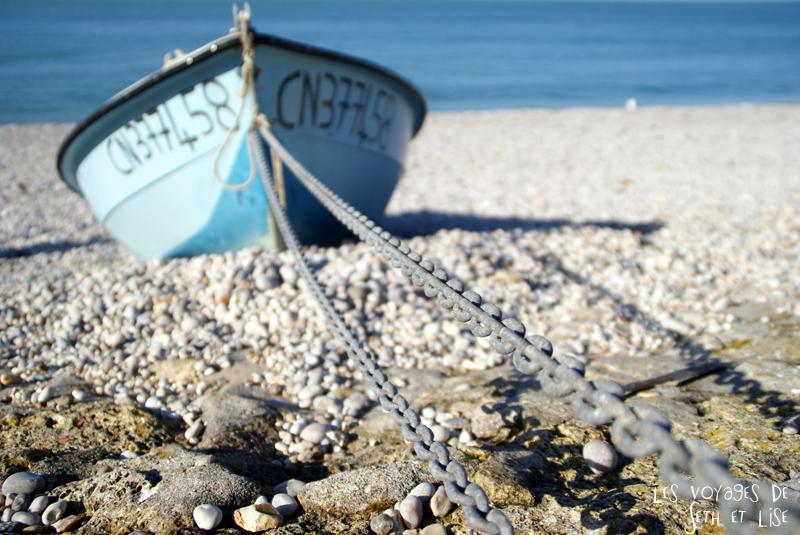blog voyage etretat bateau plage