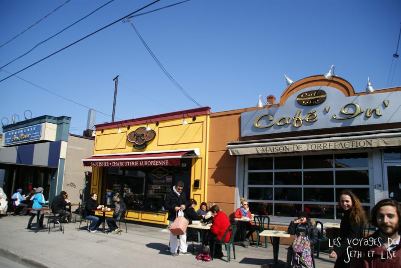 blog pvt canada montreal pvtistes couple tour du monde voyage cafe charcuterie boulanger jean talon
