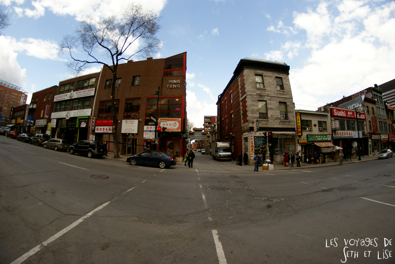 blog voyage canada pvt montreal chinatown rue maisons