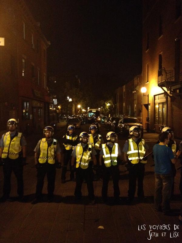 blog pvt canada montreal police manifestation revolution ggi manifencours cutv arrestation repression
