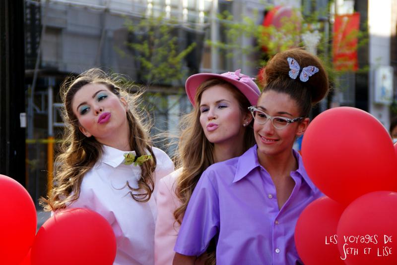 blog pvt canada voyage canada montreal voyage tour du monde fete artiste model makeup girls chicks hot duckface vintage pop