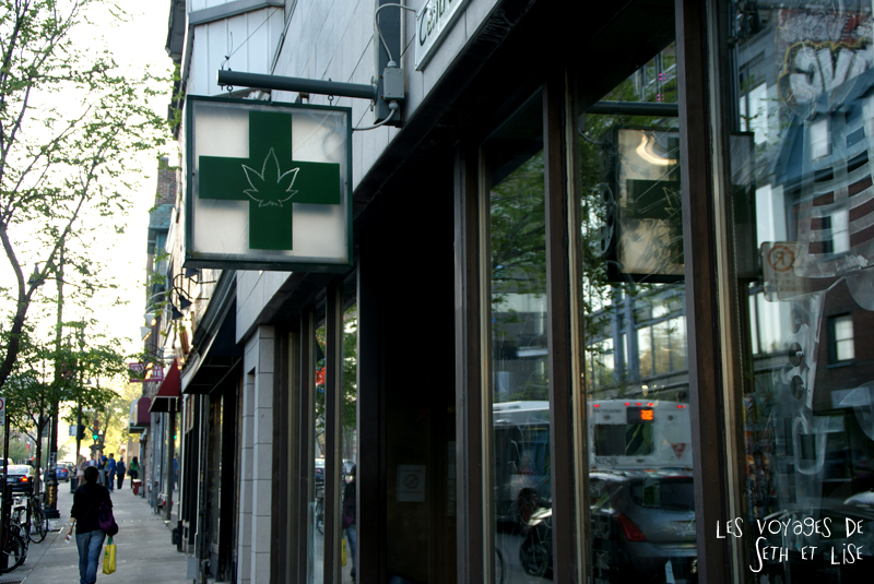 blog pvt canada montreal expat tour du monde cannabis marijuana drogue herbe HEMP ENT tree R/tree pot 420 medical pharmacie hopital clinique medecin docteur voyage