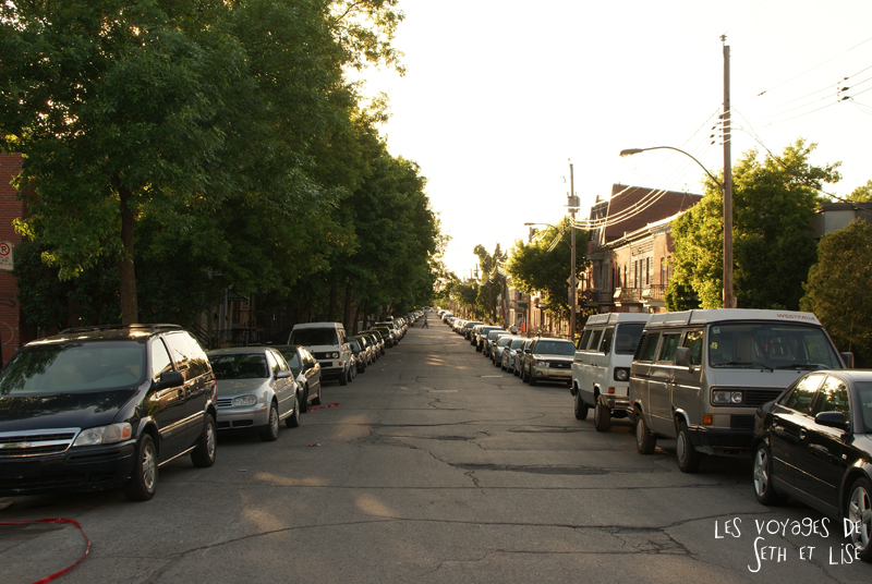 blog voyage canada montreal pvt whv rue street mile end perpective