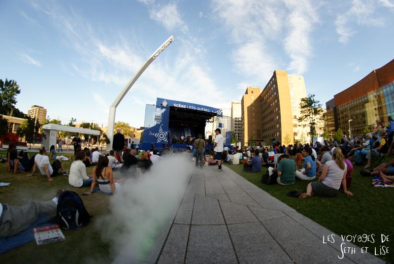 blog canada montreal pvt couple tour du monde voyage brumisateur festival jazz loto quebec
