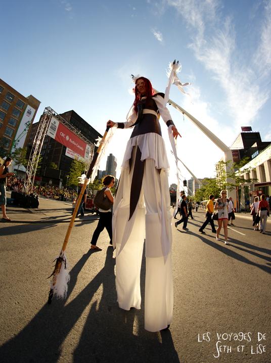 blog canada montreal pvt couple tour du monde voyage artiste echasse