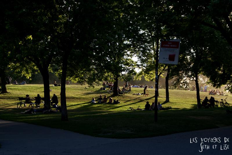 blog pvt canada montreal quebec couple voyage tour du monde parc jeanne manse chaleur