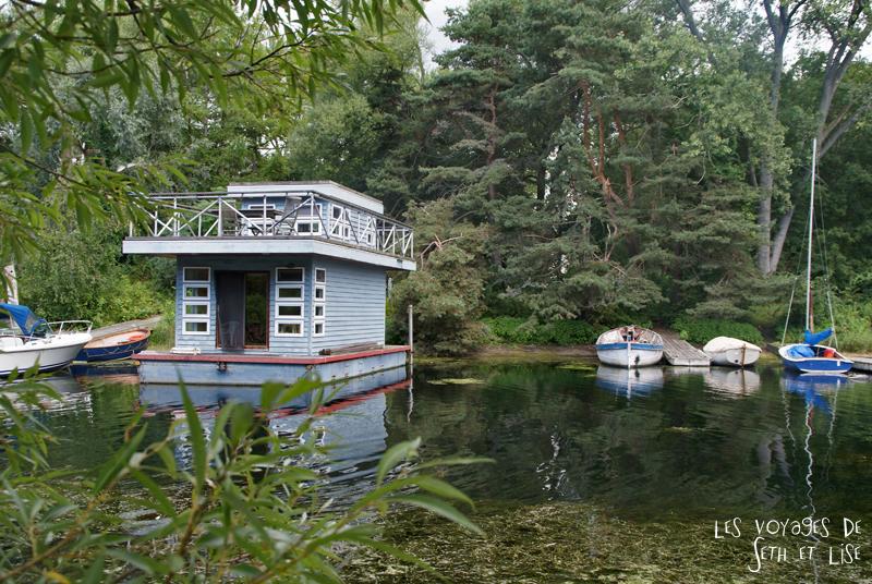 pvt canada toronto couple blog iles island ferry voyage tour du monde maison flottante boathouse lac ontario