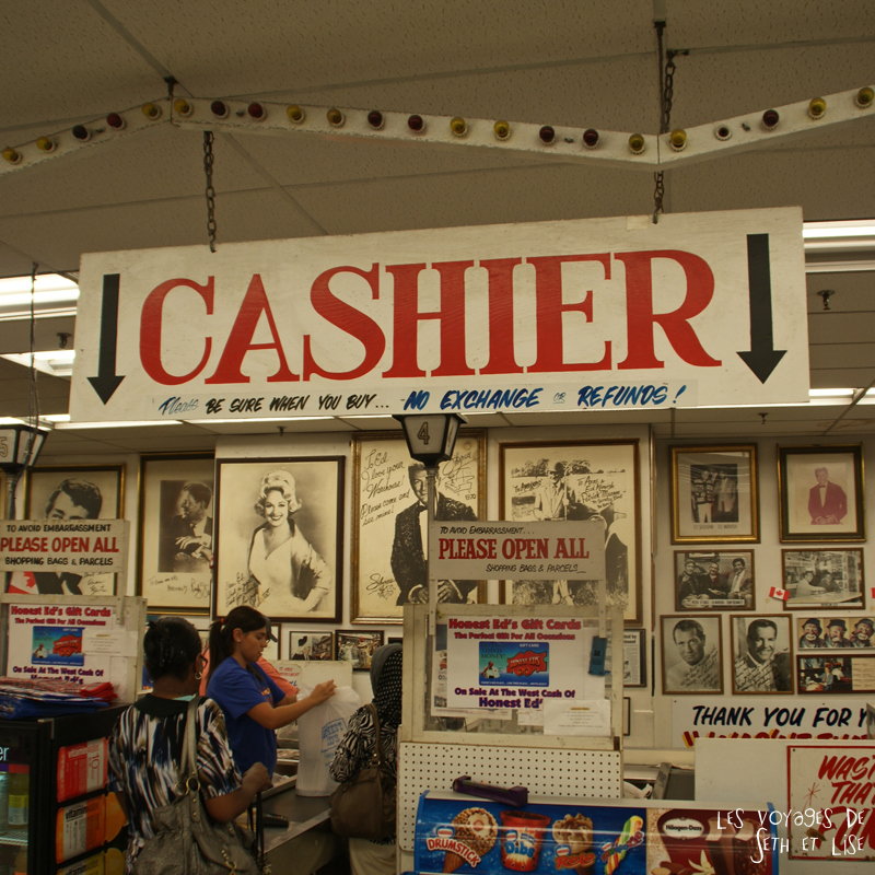 blog photo canada toronto pvt humour whv honest ed bargain vintage shop cashier