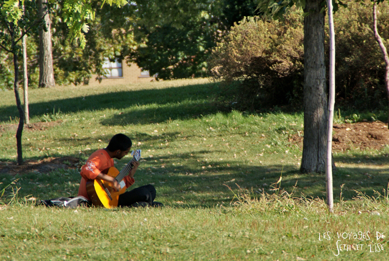 blog voyage canada photo montreal quebec humour jarry chill relax chillax guitar