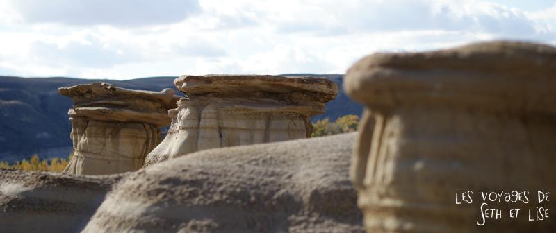 blog canada voyage photo pvt alberta drumheller dinosaure badland western fossile