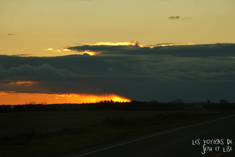 blog voyage canada pvt photo elk island alberta sunset