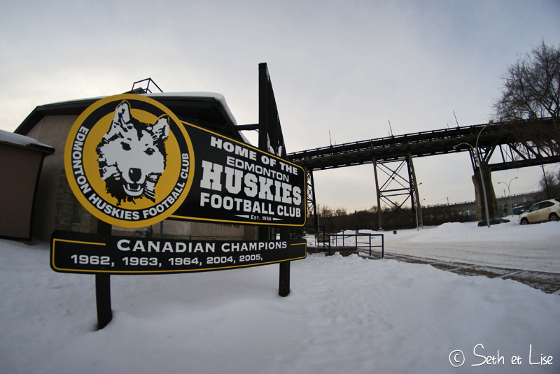 blog voyage canada photo pvt edmonton hiver river valley huskie football club