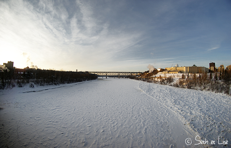 blog voyage canada photo pvt edmonton alberta saskatchewan river pont