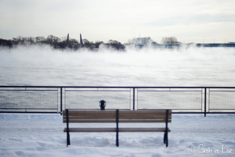 blog voyage montreal pvt photo bd hiver brume mist fog saint laurent canada