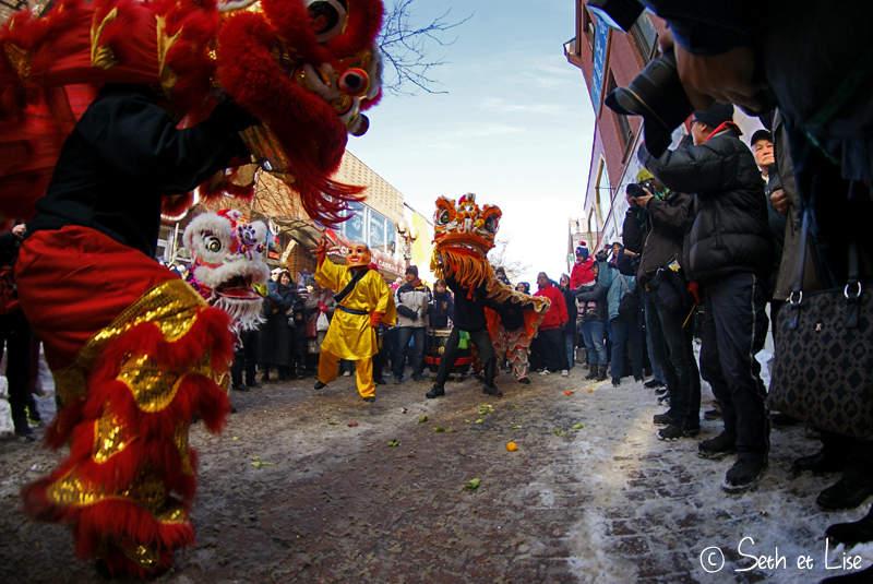 Nouvel an chinois à Montréal