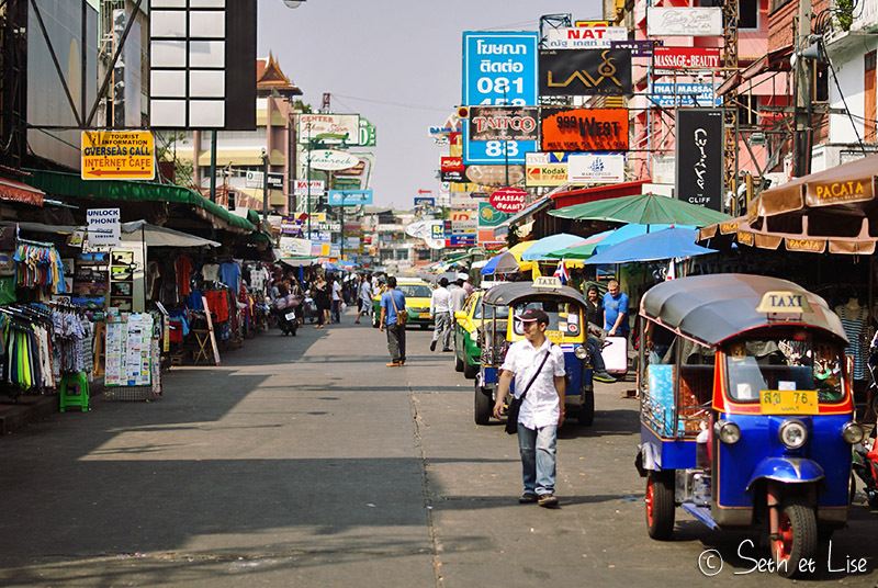 Un jour à Bangkok