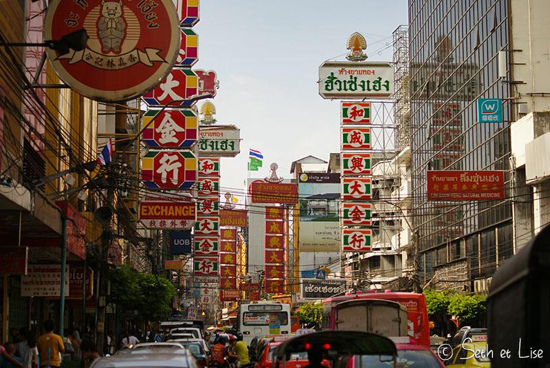 Shopping à Bangkok et découverte de Chinatown
