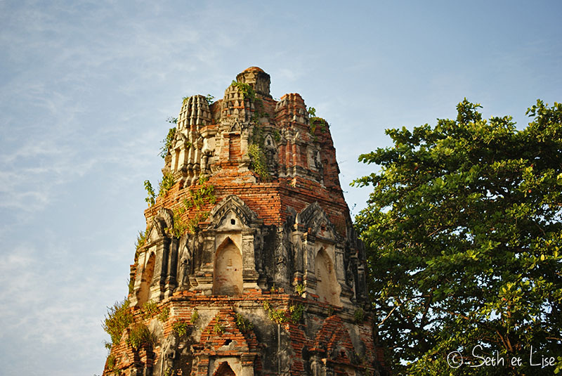 Ayutthaya, temples, histoire et éléphants
