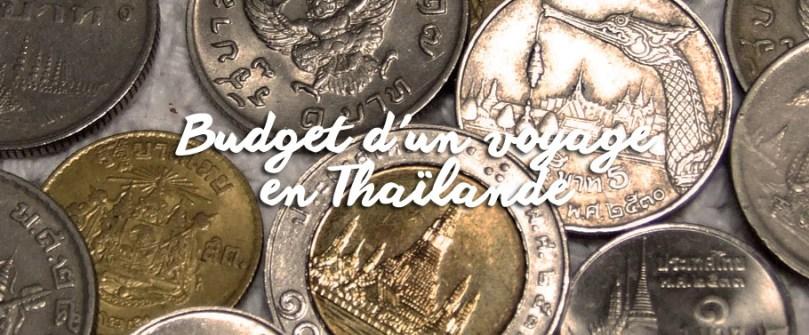 Budget d'un voyage en Thaïlande